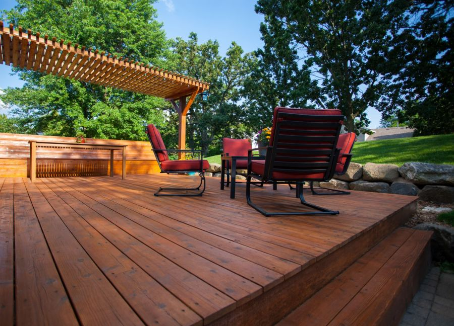 Deck Staining by Johnny's Painting of Polk County, LLC