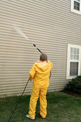 Pressure washing in JPV, FL by Johnny's Painting of Polk County.